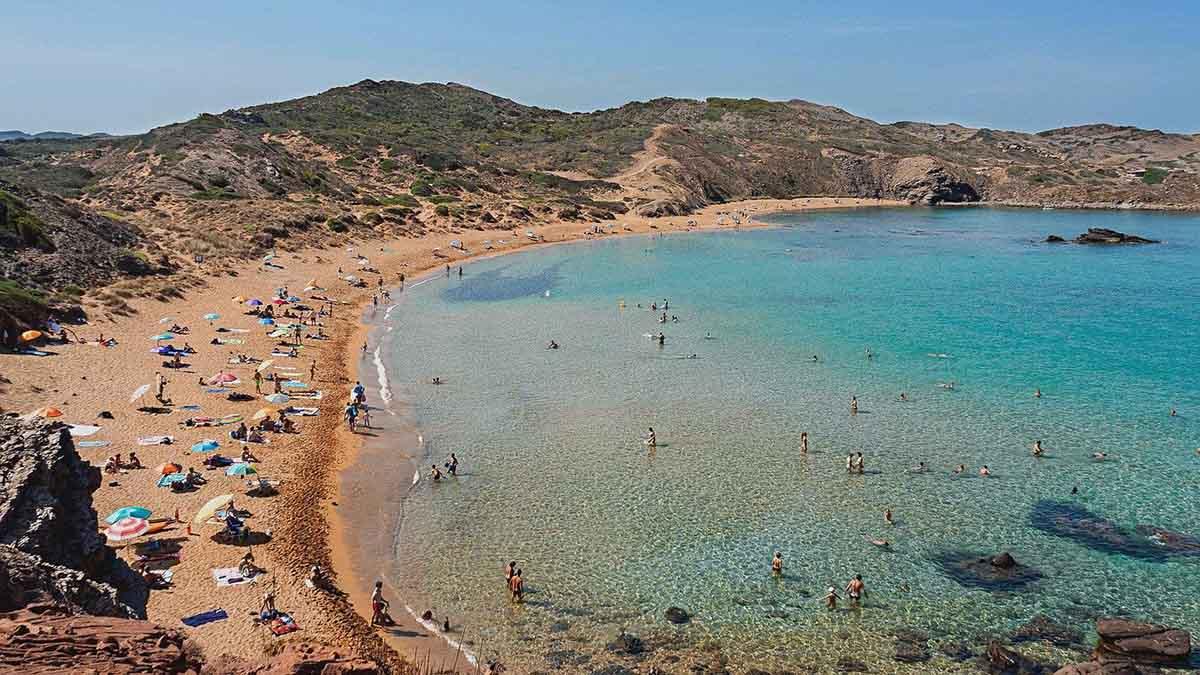 playas-en-menorca